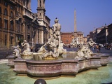 Piazza Navona, Rome, Italy Photographic Print by Roy Rainford
