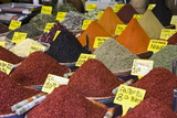 Spices for Sale, Spice Bazaar, Istanbul, Turkey, Western Asia Photographic Print by Martin Child