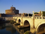 Castle San Angelo, Rome, Italy Photographic Print by Hans-Peter Merten