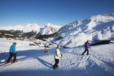 Arosa Mountain Resort Ski Area, Graubunden, Swiss Alps, Switzerland, Europe Photographic Print by Christian Kober