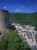 Esch Sur Sure Castle, Esch Sur Sure, Luxembourg Photographic Print by Gavin Hellier