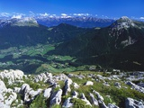 View from the Alps, Chartreuse, France Photographic Print by David Hughes
