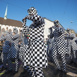 Fasnact Spring Carnival Parade, Basel, Switzerland, Europe Photographic Print by Christian Kober