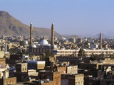 Cityscape of Sanaa, Yemen, Middle East Photographic Print by Jack Jackson