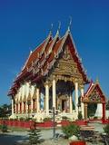 Wat Phra Nang Sang, Talang, Phuket, Thailand Photographic Print by Adina Tovy