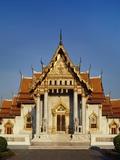 Wat Benchamabophit Dusitwanaram, Bangkok, Thailand Photographic Print by Adina Tovy