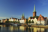 Old Town of Lubeck, Schleswig-Holstein, Germany, Europe Photographic Print by Jochen Schlenker