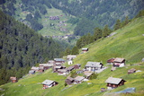 Mountain Village, Zermatt, Valais, Swiss Alps, Switzerland, Europe Photographic Print by Christian Kober