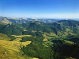Massif Central, Auvergne Volcanoes National Park, France Photographic Print by David Hughes