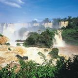 Iguazu Falls, Brazil Fotografiskt tryck av Geoff Renner