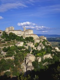 Hillside Town, Gordes, Provence, France Photographic Print by Roy Rainford
