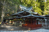 Futarasan Shrine, UNESCO World Heritage Site, Nikko, Kanto, Japan, Asia Photographic Print by Michael Runkel