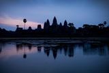 Sunrise over Angkor Wat Photographic Print by Ben Pipe