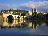 Papal Palace, Avignon, Vaucluse, Provence-Alpes-Cote D'Azur, France Photographic Print by John Miller