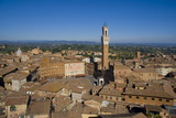 Palazzo Pubblico, Siena, UNESCO World Heritage Site, Tuscany, Italy, Europe Photographic Print by Charles Bowman