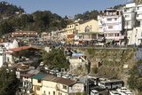 Gandhi Chowk, Mussoorie, Hill Station Above Dehra Dun, Uttarakhand, Garwhal Himalaya, India, Asia Photographic Print by Tony Waltham
