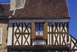 Building Exterior in the Village of Chablis, Burgundy, France Photographic Print by Michael Busselle