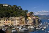 Portofino, Riviera Di Levante, Liguria, Italy, Europe Stampa fotografica di Charles Bowman