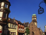 Kaysersberg, Alsace, France Photographic Print by John Miller