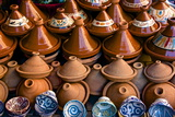 Earthenware Tajines and Bowls from Fez Photographic Print by Guy Thouvenin