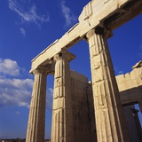 Propylaea, Acropolis, Athens, Greece Photographic Print by Roy Rainford