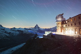 The Matterhorn, 4478M, and Gornergrat Observatory Photographic Print by Christian Kober