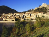 Sisteron, Provence, France Photographic Print by John Miller