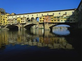 Ponte Vecchio over the River Arno, Florence, Italy Photographic Print by Lee Frost