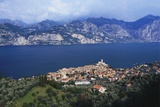 Malcesine on the Coast of Lake Garda, Veneto, Italy Photographic Print by Gavin Hellier