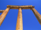 Columns of the Cardo in Jerash, Jordan Photographic Print by Neale Clarke
