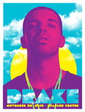 Drake - Staples Center Poster by Kii Arens