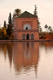 Water Basin Dating from the 12th Century Almohade Period and Pavilion Photographic Print by Guy Thouvenin