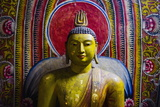 Buddha Statue in Cave 1 (Cave of the Divine King) (Temple of the Divine King) Photographic Print by Matthew Williams-Ellis