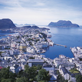 Alesund, Norway Photographic Print by Geoff Renner