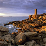 Ploumanach Lighthouse on the Cote De Granit Rose (Pink Granite Coast) Photographic Print by Stuart Black