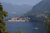 View of Lake Como, Lombardy, Italian Lakes, Italy, Europe Photographic Print by Charles Bowman