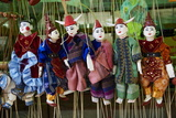 Traditional Dolls for Sale in the Market, Bagan (Pagan), Myanmar (Burma), Asia Photographic Print by  Tuul