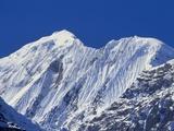 Mt Gangapurna, Annapurna Mountain Range, Nepal Photographic Print by James Green