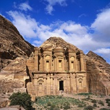 El Deir Monastery, Petra, Jordan Photographic Print by Christopher Rennie