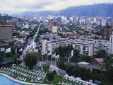 Aerial View of Las Mercedes, Caracas, Venezuela Photographic Print by Adina Tovy