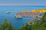 Old Town (Stari Grad), UNESCO World Heritage Site, Dubrovnik, Dalmatia, Croatia, Europe Photographic Print by Alan Copson