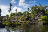 Ruined City of Nan Madol Photographic Print by Michael Runkel