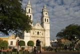 Catedral De Nuestra Senora De La Purisima Concepcion, Campeche, Mexico, North America Photographic Print by Tony Waltham