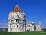Battistero Di Pisa, Pisa, Tuscany, Italy Photographic Print by Hans-Peter Merten
