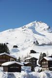Arosa Mountain Resort, Graubunden, Swiss Alps, Switzerland, Europe Fotografisk tryk af Christian Kober