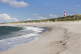 Beach and Lighthouse List Ost Photographic Print by Markus Lange