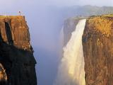 Victoria Falls, Zimbabwe Photographic Print by Peter Groenendijk