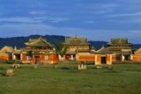Erdene Zuu Monastery, Karakorum, Uvurkhangai, Mongolia Photographic Print by Bruno Morandi