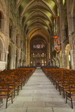 The Nave of Basilique Saint Remi Photographic Print by Julian Elliott