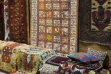 Traditional Rugs for Sale, Grand Bazaar, Istanbul, Turkey, Western Asia Photographic Print by Martin Child